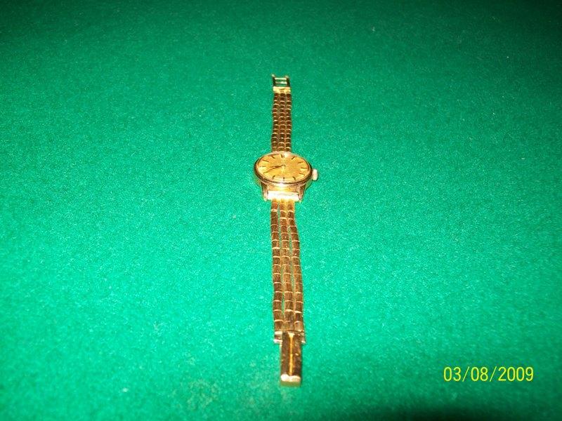 omega orologio oro anni 50